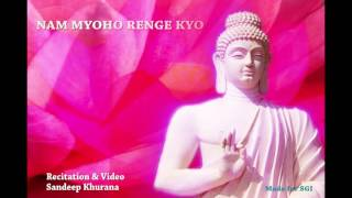 Nam Myoho Renge Kyo Chant 108 Times