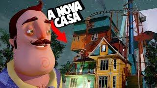 A NOVA CASA GIGANTE DO VIZINHO!   Hello Neighbor (ALPHA 3)