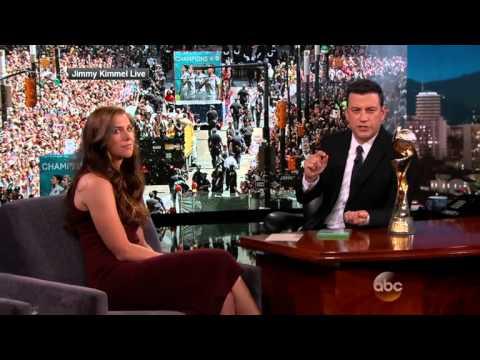 Jimmy Kimmel Live : Alex Morgan not much of a video game expert