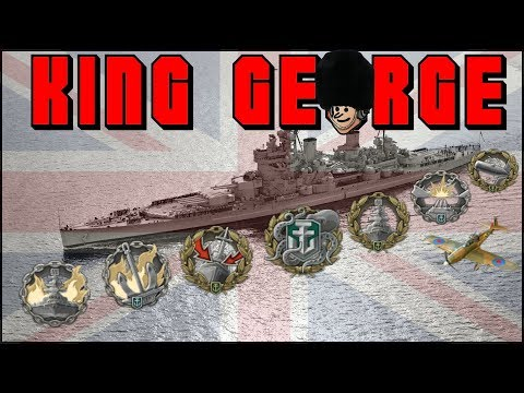 The BEST tier 7 ?🇬🇧 King George V 200K DMG || World of Warships