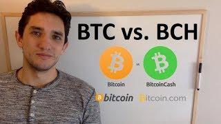 Diferencia entre Bitcoin y Bitcoin Cash - BTC vs BCH - Fork o Tenedor?