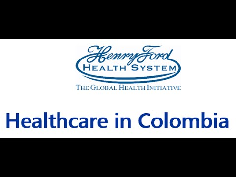 Healthcare in Colombia Lecture - 7/6/2016
