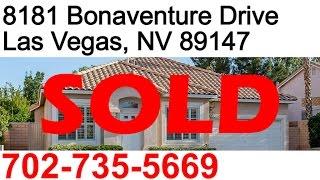 3 Bedroom single story home for sale in Las Vegas Nevada 89147