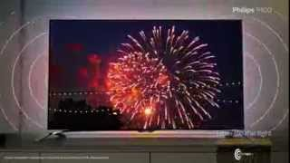 2014 4K Philips 9100 Series Smart TV powered by Android