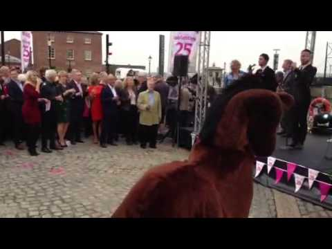 Juice FM Horsing around on ITV's This Morning!