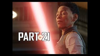 STAR WARS JEDI FALLEN ORDER Walkthrough Part 21 - JEDI KNIGHT