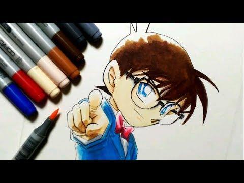 コナン君描いてみた【コピック】名探偵コナン