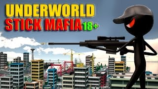 Underworld Stick Mafia 18+ (by Awesome Action Games) Android Gameplay [HD]