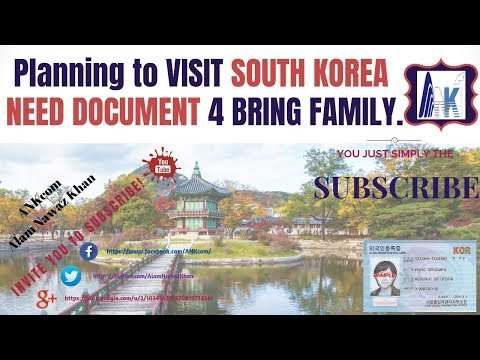 Part-5: What document is needed to bring your family