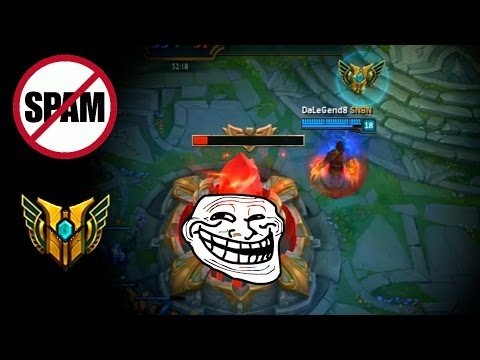 LoL Funny Moments Episode 45 Don't spam mastery logo (League of Legends)