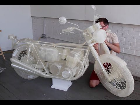 3d printed motorcycle by jonathan brand ultimaker 3d Making models for 3d printing