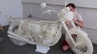 3D Printed Motorcycle By Jonathan Brand - Ultimaker: 3D Printing Story
