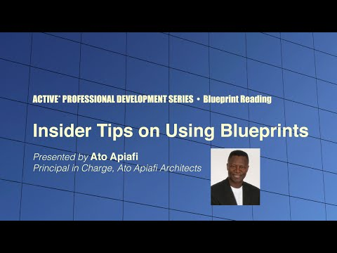 Insider Tips on Using Blueprints