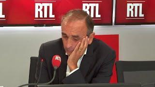 """""""Je suis nostalgique et réactionnaire"""", confie Éric Zemmour sur RTL"""