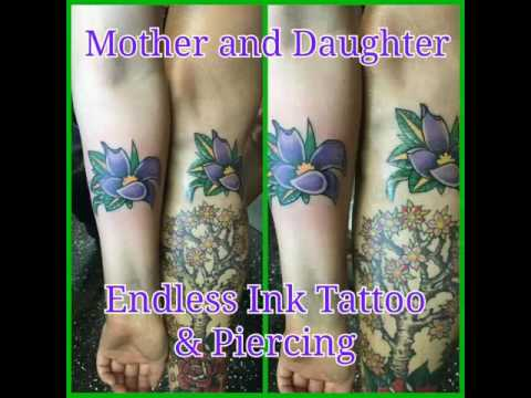 Mother and Daughter Tattoos Denver Colorado Best Tattoo