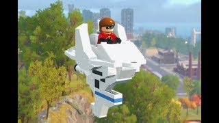 Lego The Incredibles - All Minikits Level 9 Nomanisan Island 100% Free play Walkthrough