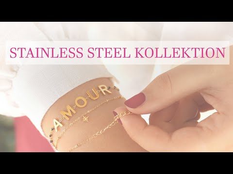 Eindruck ♥ LOVE Artikel aus Stainless Steel