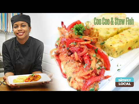 Simply Local | Coo Coo & Stew Fish