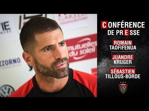 Conférence de presse d'avant-match amical Toulon-Lyon