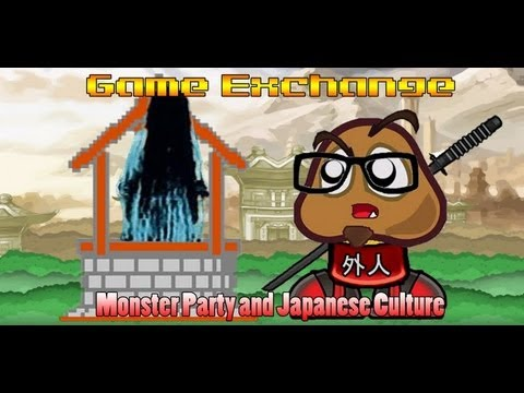 Monster Party and Japanese Culture - Game Exchange