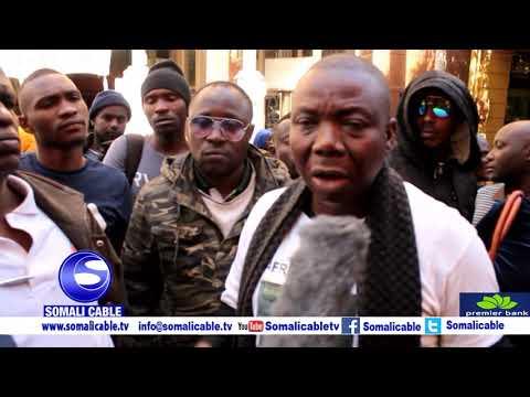 Download Dadka qaxootiga ah ee ku nool Cape Town oo kacdoon wada