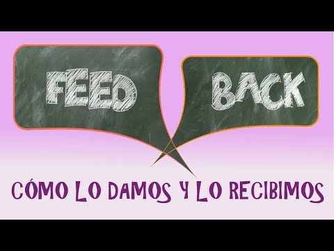 APRENDÉ A DAR Y RECIBIR FEEDBACK. VIDEO ANIMADO