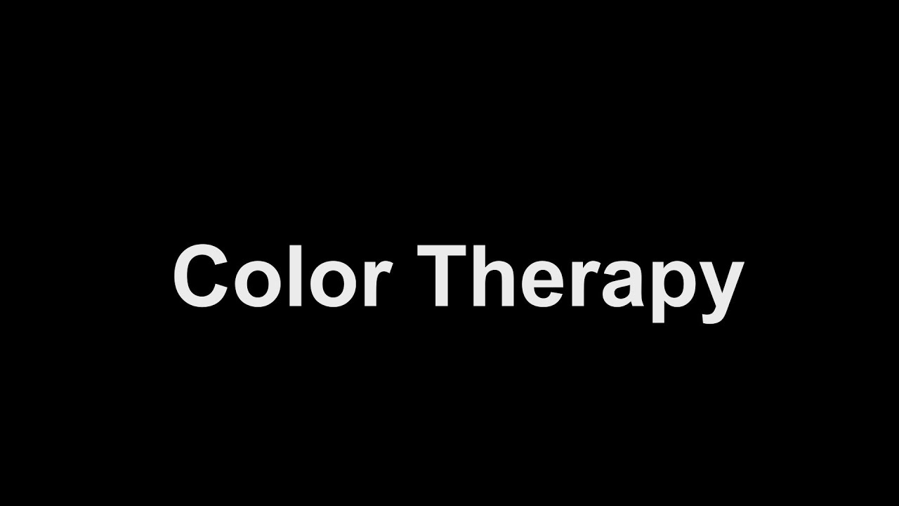 Colour therapy for eyesight - Ancient Remedies Treatment For Eyes Pain Watering Color Therapy Youtube