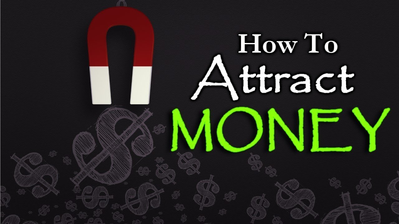 We attract money energy