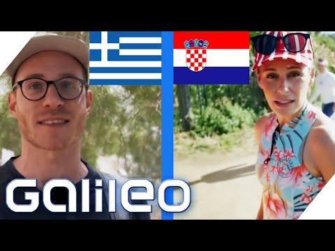 Kroatien vs. Griechenland: Wo kann man besser Urlaub machen?   Galileo   ProSieben
