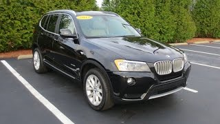 2013 BMW X3 xDrive28i Full Tour & Start-up at Massey Toyota