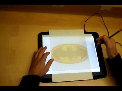 Mesa de luz a4 bajo consumo leds ultrafina exp youtube for Mesa de luz para dibujo