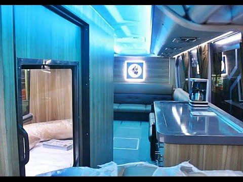 Bus Super Mewah Pandawa 87 Premium Class Scania K410