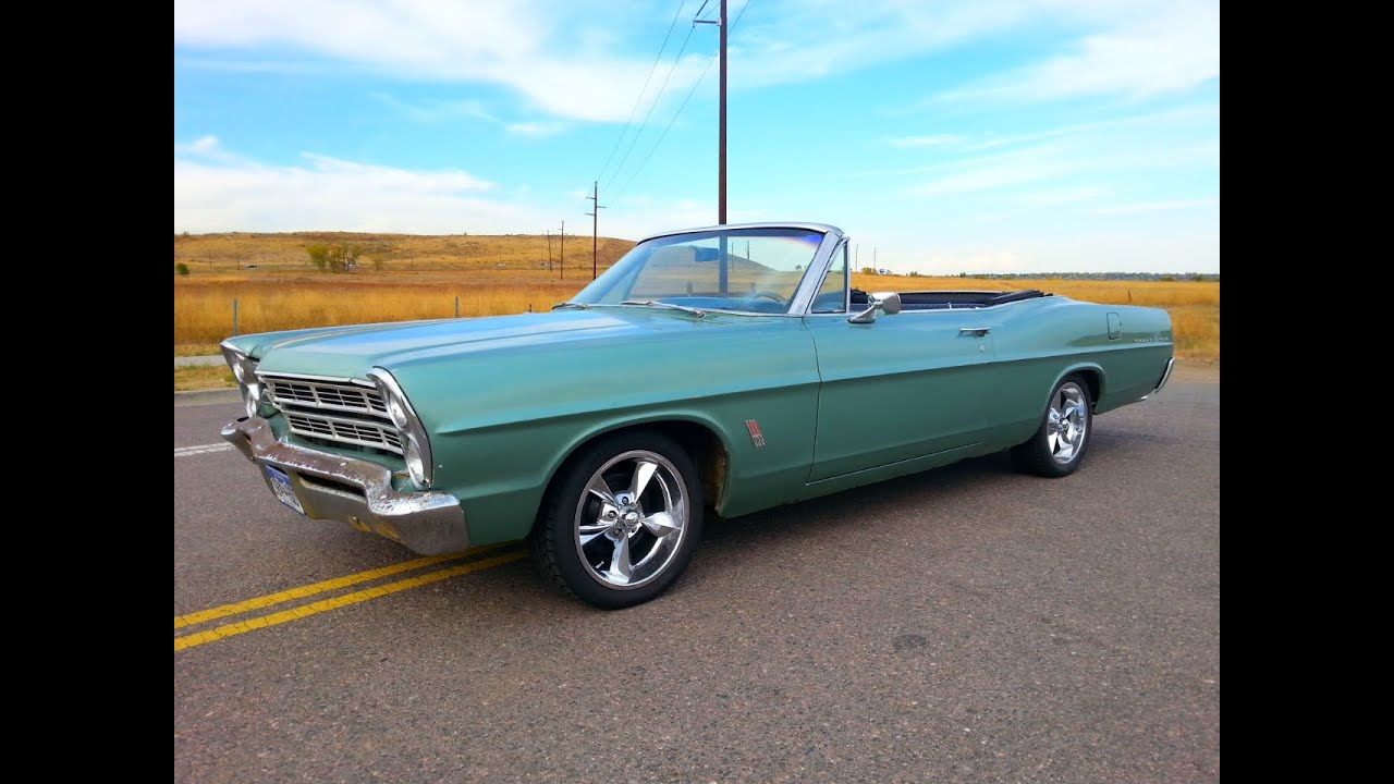 1967 Galaxie 500 Convertible - YouTube