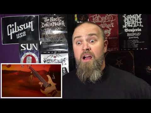 RINGS OF SATURN- MARGIDDA (OFFICIAL VIDEO) REACTION!!!!