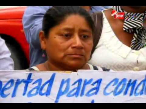 Exigen liberación para detenido en protestas contra el gobierno