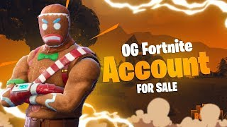 *SELLING* OG Fortnite Account - Christmas Skin & Pickaxe!