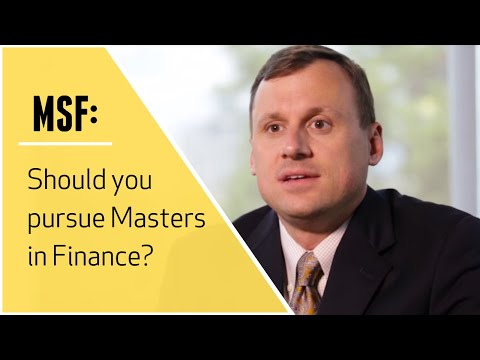 Should you pursue MS Finance? | Career advice, challenges, a
