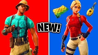 NEW Fortnite Skins LEAKED! - Outfits, Wraps, Pickaxes & More!
