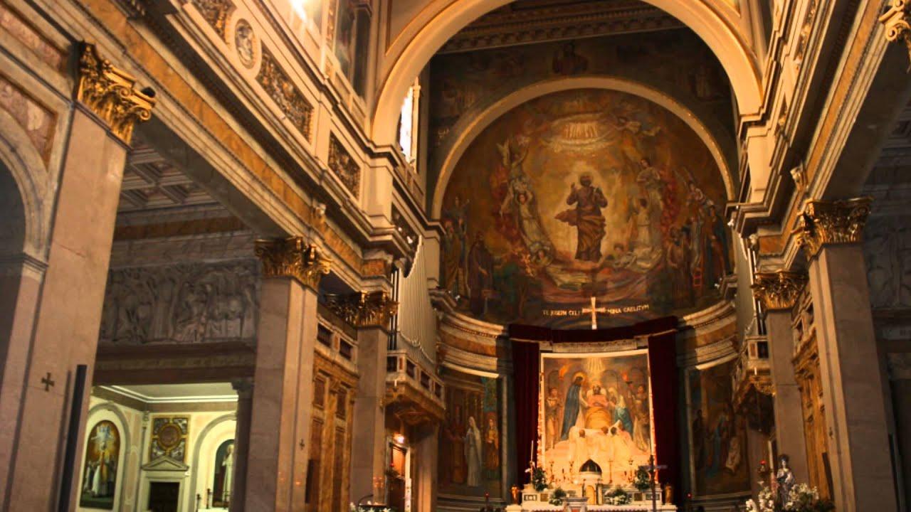 basilica di san giuseppe al trionfale roma italia youtube