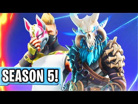 SEASON 5 FORTNITE BATTLE PASS! Fortnite Battle Royale Season 5 Update! (Season 5 Fortnite Countdown)