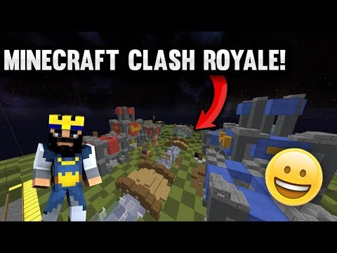 CRAZY MINECRAFT CLASH ROYALE BASE! (FULLY FUNCTIONAL) | Minecraft Factions