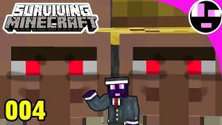 VILLAGER BREEDER - ROSCOE THE WORST | Surviving Minecraft 003 Vanilla Minecraft Survival Playthrough
