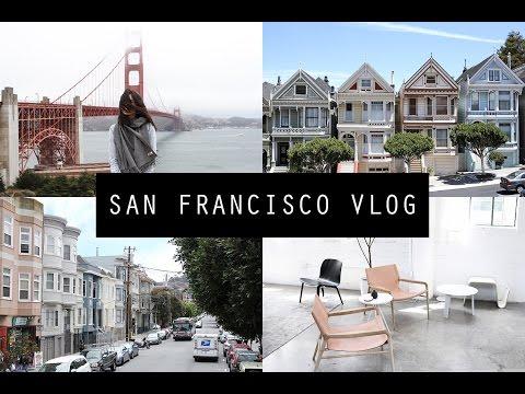USA Vlog - 4 Days in San Francisco: Golden Gate Bridge & Napa Valley   Mademoiselle