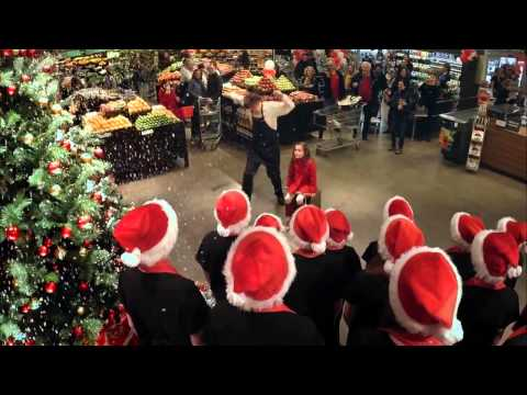 Metro my grocer   Christmas Stunt with Cirque du Soleil