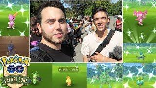 28 SHINY POKEMON! ✨Montreal Safari Zone Part 2- Pokemon GO Shiny Montage