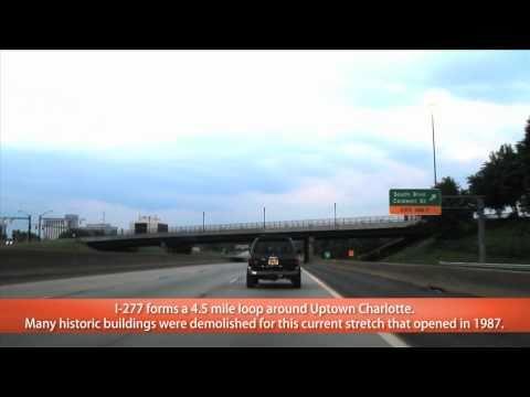I-77 to I-277 Charlotte, NC (Exits 19 to 2A)