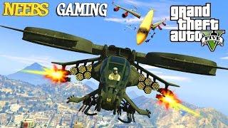 GTA 5 - SCORPION MOD / AVATAR CHOPPER - FUNNY MOMENTS (Grand Theft Auto Gameplay Video)