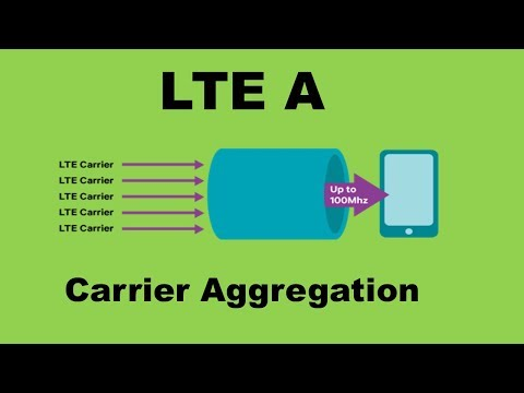 LTE Advanced In Hindi | Carrier aggregation explained