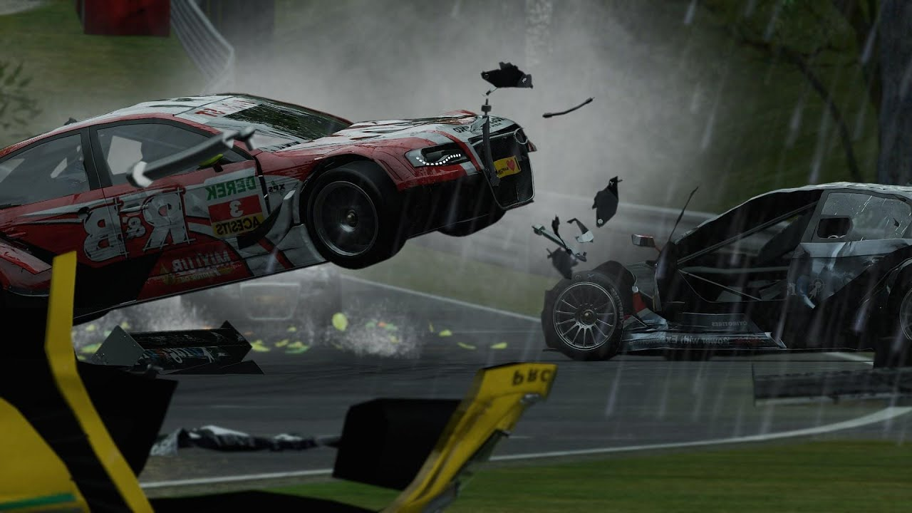Project CARS Crash Compilation 2