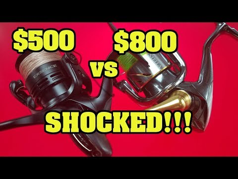 C'mon Shimano STOP HOLDING BACK!!  Shimano's best spinning reels torn apart and reviewed!